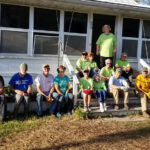 The POJ crew worked with Methodist volunteers from western North Carolina