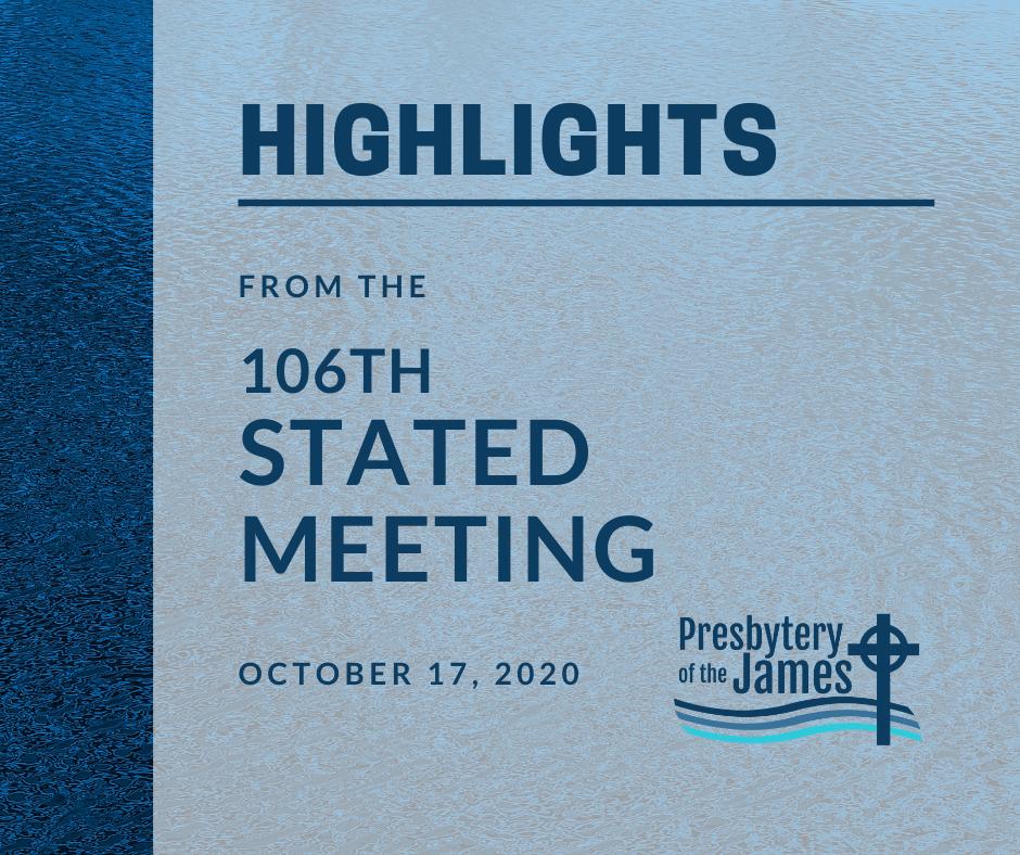 Meeting Highlights 106 2