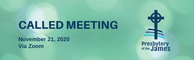 Nov called meeting banner