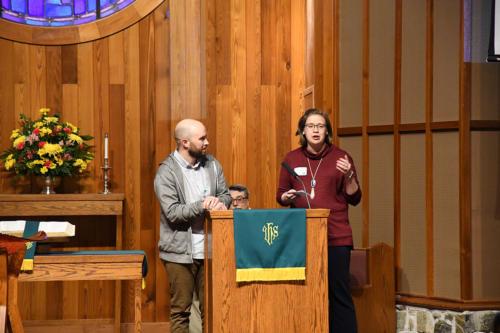 Collegiate Ministries - Alex Fischer, Shannon Waite Hendricks